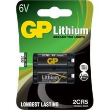 GP BATTERIJ 2CR5 6VOLT LITHIUM