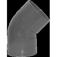 PVC BOCHT 75 MM 45 GR MOF/MOF