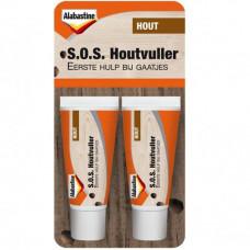 ALABASTINE S.O.S HOUTVULLER 2X20ML