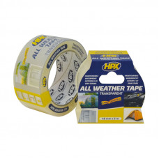 HPX ALL WEATHER TAPE TRANSP. 48MMX25MTR