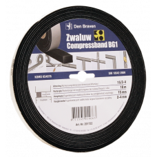 ZWALUW COMPRESSBAND 20X20 MM 8M/ROL
