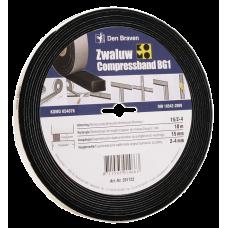 ZWALUW COMPRESSBAND 15X15 MM 10M/ROL