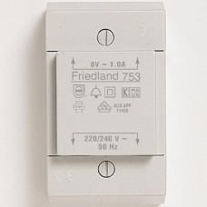 FRIEDLAND D753 TRAFO 8V 1A OPBOUW